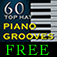 60 top hat piano grooves