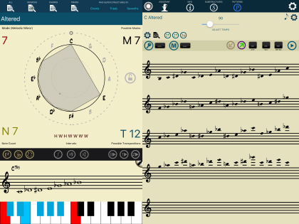 Tessitura Pro Study Scales Modes Like Never Before